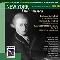 The Complete Mozart Divertimentos: Historic First Recorded Edition: CD 2 by Mozart (2002-07-28)