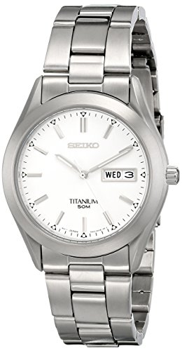 Seiko Men's SGG705 Titanium Bracelet Watch