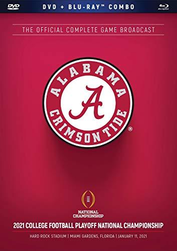 2021 CFP National Championship Alabama(DVD+BD Combo)