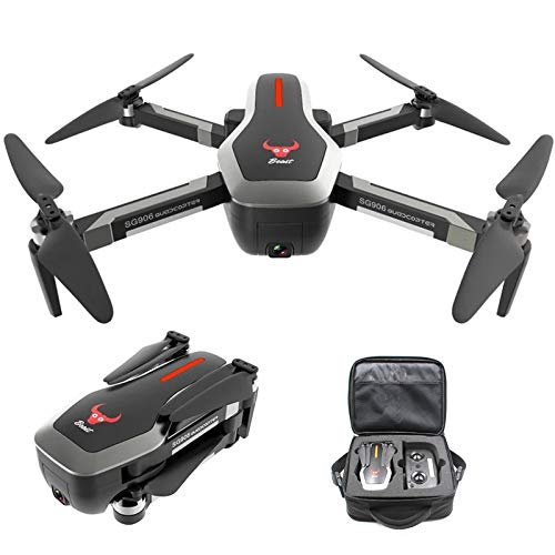 AKDSteel ZLRC Beast SG906 5G WiFi GPS FPV Drone with 4K Camera and Handbag 3 Batteries -for Toys