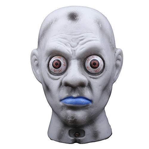 Buy-To Halloween Horror masker hoofd van de prom, angsten onderdelen, make-up deken voor evenementen, festival en decoratie