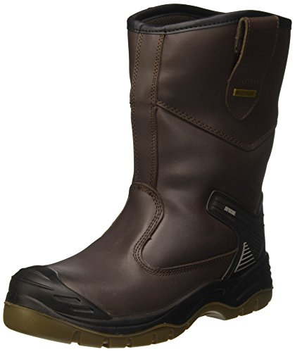 Sterling Safetywear AP305, Stivali Antinfortunistiche Unisex Adulto, Marrone, 43 EU