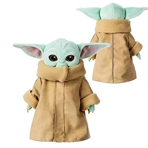 ZYW Baby Yoda Plüschtier Star Wars, Kinder Plüschpuppe Puppe 30Cm