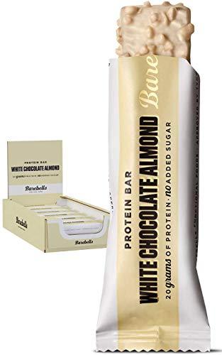 Barebells Barbells Protein Bars 55g x 12 Box - White Chocolate Almond