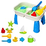 Mesa de juegos para niños con arena y agua, arena y agua, mesa de juegos de arena y agua, mesa de juegos de arena, mesa...