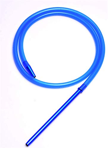 XZYP Arabische Hochwertige Moderne Shisha Silikon Tube Shisha Shisha Schlauch Shisha Tube Aluminium Griff,Blau