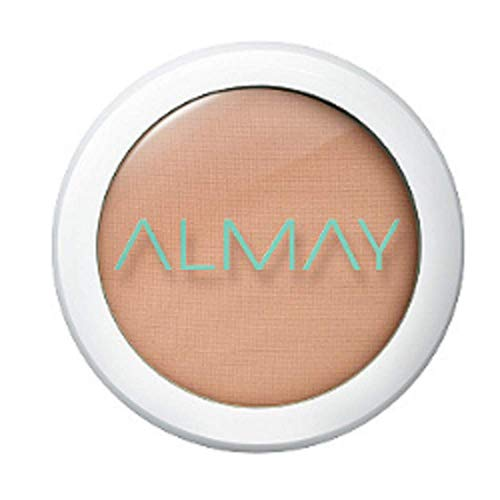 Almay Clear Complexion Pressed Powder, Hypoallergenic, Cruelty Free, Oil Free, Fragrance Free, Dermatologist Tested,0.28 Oz