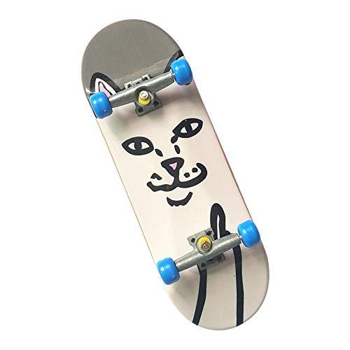 IPOTCH Mini Diapasón Patineta de Dedos Profesional Fingerboard Finger Skateboards Regalo de...