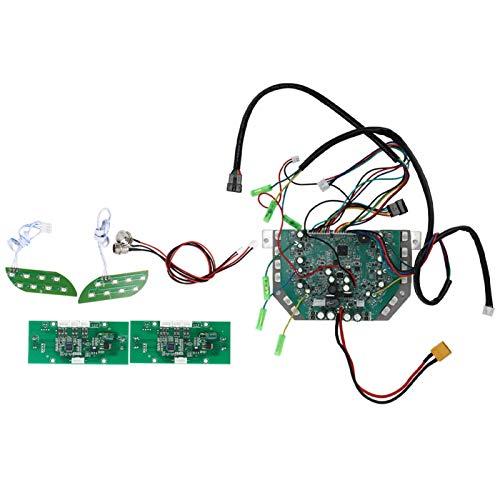 DAUERHAFT Controlador de Placa Base de Dos Ruedas de Rendimiento Estable Simple, para Riidng, para Scooters eléctricos, para Ciclismo(Three-Seater Self-Balancing Version)