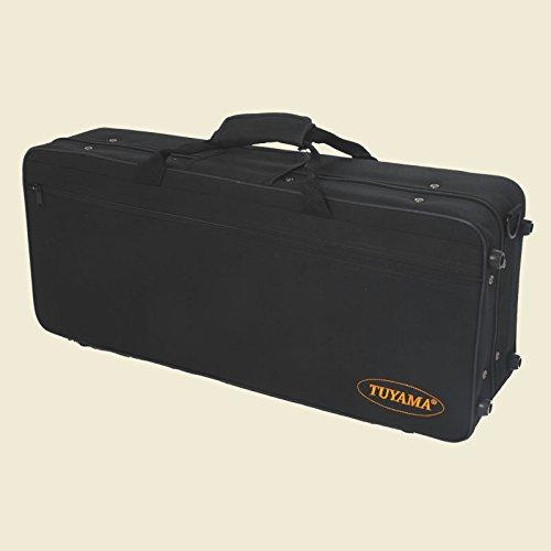 Koffer für Altsaxophon Tasche Case Etui Saxophonkoffer Saxophon Gigbag Saxophone