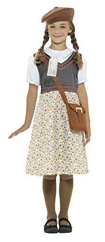 Smiffys Evacuee - Disfraz de niña escolar
