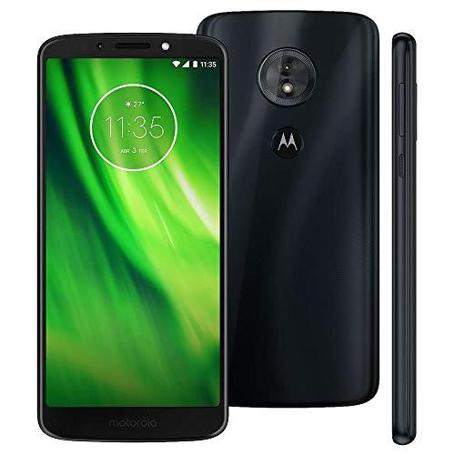 Motorola Moto G6 Play Dual Sim 32GB XT1922-5 Pantalla Max Vision de 5.7″ Full HD+ Libre de Fabrica, Azul…