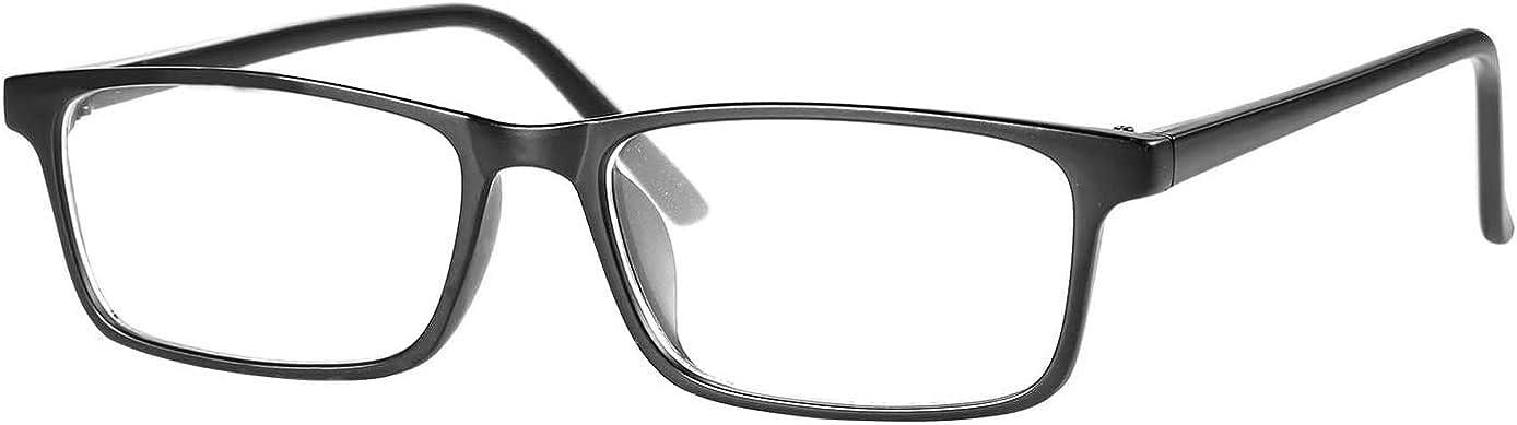 POMIDEA Blue Light Glasses for Kids, Computer Video Gaming Eyeglasses for Boys and Girls Age 3-12 Anti Glare Blue Light Filter Glasses UV Protection Black