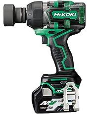 HiKOKI (ハイコーキ) 36V コードレス インパクトレンチ 最大トルク630N・m 四角ドライブ19mm オートストップ機能 HiKOKI TOOLSアプリ対応 Bluetooth搭載電池×2個 急速充電器 ケース付き WR36DD(2XPS)