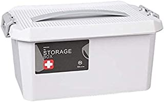 AINIYF Household Medicine Box Medicine Storage Box Portable First Aid Kit Multi-Layer Medical Box (Color : White, Size : C)