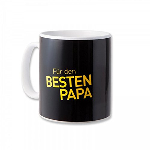 Borussia Dortmund Bester Papa Tasse/Kaffeetasse/Kaffeepott/Mug BVB 09 - Plus gratis Aufkleber Forever Dortmund