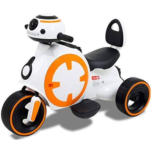 Indalchess Moto ELÉCTRICA Infantil 6V Star Wars Style Scooter - KI-STARW