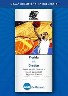 2007 NCAA r Division I Men's Basketball Midwest Regional Finals - Florida vs. Oregon