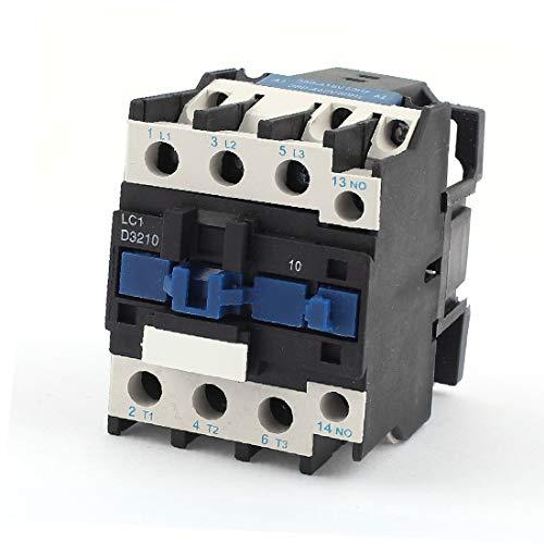 X-DREE Contactor de CA 380-440V Bobina 32A 3 Polos Interruptor abierto normal CJX2-D3210 (Bobine de contacteur AC 380-440V 32A, commutateur normal 3 pôles CJX2-D3210