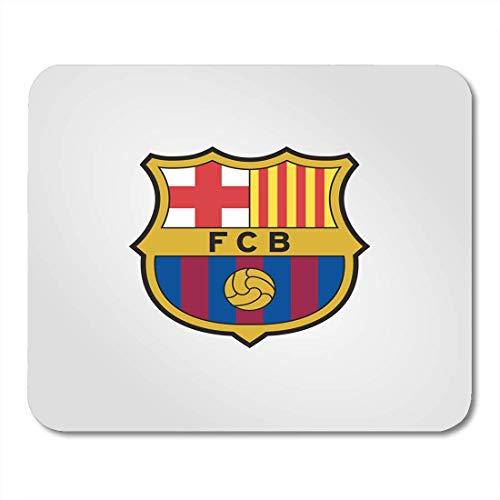 Preisvergleich Produktbild Mousepad,  Barca Surabaya Indonesien Februar 2018 Barcelona Fc Profifußballverein mit Sitz in Katalonien Spanien Markenpersönlichkeit Mauspad für das Studium im Urlaub, 18x22cm