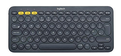 Logitech K380 Wireless Multi-Device Keyboard for Windows, Apple iOS, Apple...