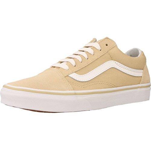 Vans Unisex-Erwachsene Ua Old Skool Sneakers, Beige (Pale Khaki/True White), 39 EU
