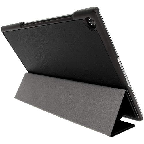 Kepuch Custer Hülle für Sony Xperia Z2 Tablet,Smart PU-Leder Hüllen Schutzhülle Tasche Hülle Cover für Sony Xperia Z2 Tablet - Schwarz