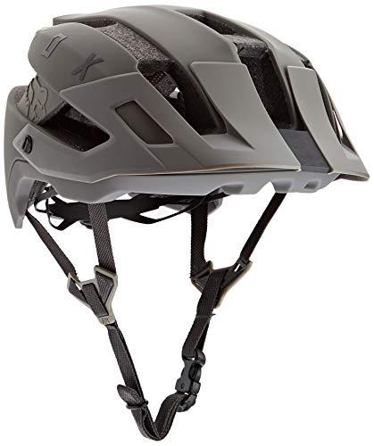 Fox Unisex– Erwachsene Flux Solid Fahrradhelm, Dirt, XS/S