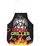 STAMPATEK Grembiule Divertente Barbecue Serial Griller Cucina Grigliare Grembiuli Idea Regalo BBQ