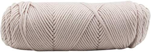 毛糸 耐久性に優れた実用的な100G分厚いウールロービングスカーフニットウール糸太さの暖かい帽子世帯 LQHZWYC (Color : A)