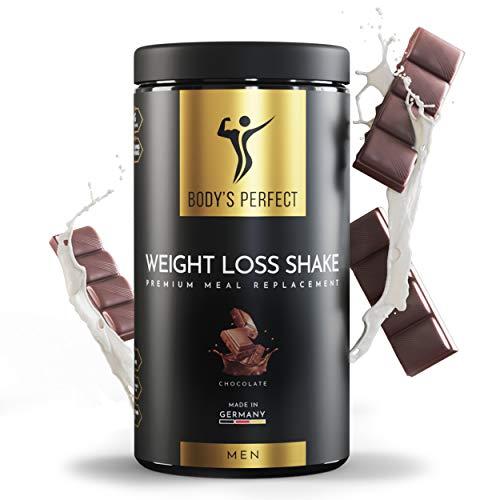 Body's Perfect - Weight Loss Shake für Männer, Diät Shake mit hochwertigem Protein zum abnehmen, mit allen wichtigen Vitaminen und Mineralstoffen, 500g (Schokolade)