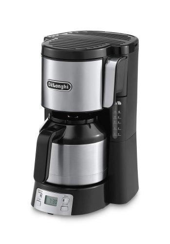 DeLonghi ICM 15750 Filterkaffeemaschine 23320, 220-240V, 50/60Hz, 1000W, schwarz