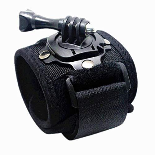 WLYX Cinturino da Braccio Cinturino da Polso con Velcro Cinturino da Braccio con Supporto Girevole di Rotazione A 360 Gradi con Serratura per GoPro Hero 1 2 3 3+ 4 Videocamere (Size : 44 Pieces)