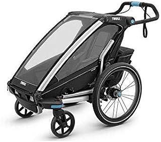 Thule Chariot Sport1, Bici + Passeggiata + Jog, Nero