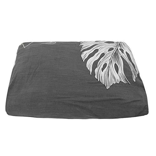Protector de sofá, Funda de sofá, Lavable a máquina Sofá de sofá Universal Suave y Altamente Estirable Antideslizante para hogares de niños con niños y Mascotas(Grey Feather Leaf)