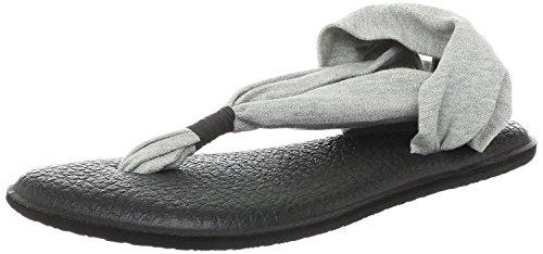 Sanuk Yoga Sling 2 Flip Flop para mujer, gris (gris), 42 EU