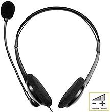 Sansai Multimedia Stereo PC Headset/Headphones/Mic for MP3/CD/PC Skype/Gaming