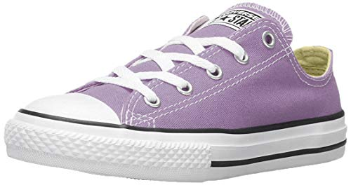 Converse Kids Girls' Chuck Taylor All Star Seasonal Ox (Infant/Toddler), Frozen Lilac 9 M