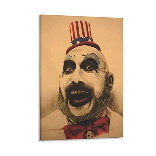 GUOHANG Bribase Shop Captain Spaulding The Devils Rejects Poster gigante su tela da parete 60 x 90 cm