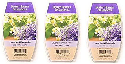 Better Homes & Gardens Aromatherapy Essential Oil Infused Wax Melts - 2.5 OZ - 3 Pack (Lavender & Chamomile)