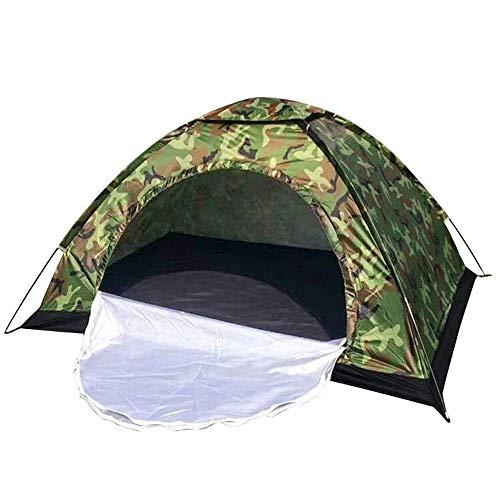 Carpas, necesidades al aire libre, salidas de prim Tiendas de campaña para acampar la tienda de campaña de camping instantánea impermeable, adecuada para uso familiar de 2-3 personas, toldo a prueba d
