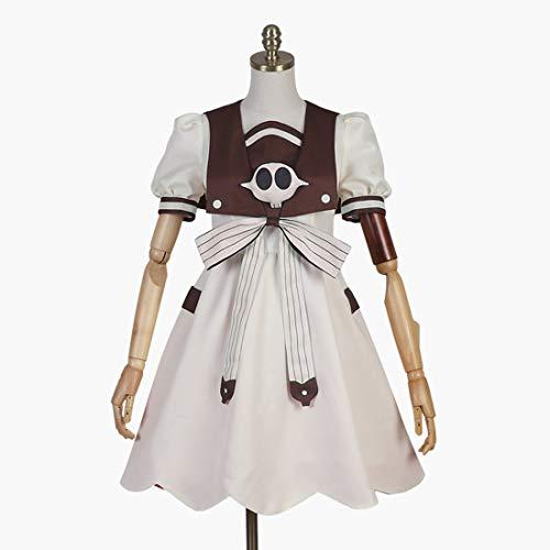 Macium Nene Yashiro Kostüm, Toilet-Bound Hanako-Kun Cosplay Kleid für Mädchen Damen, Anime Cosplay Kostüm Full Set mit Perücke - L