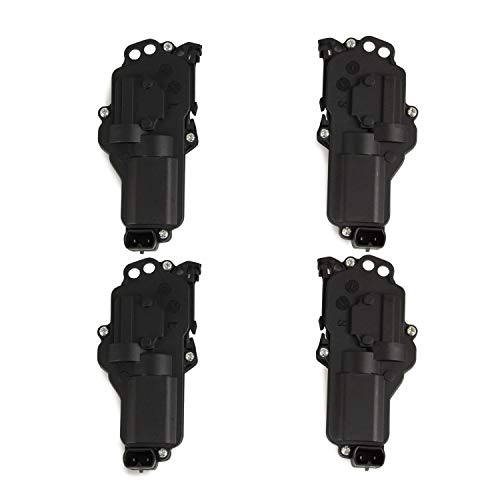 Power Door Lock Actuators Kit Set of 4 6L3Z25218A43AA, 6L3Z25218A42AA Compatible with Ford F150 F250 F350 F450 F550 Excursion Expedition Mustang (For Ford)
