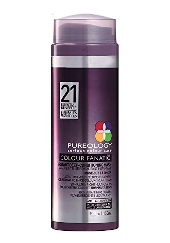 Pureology | Colour Fanatic Instant Deep-Conditioning Hair Mask | Restore & Strengthen | Maintain Beautiful Color | Vegan | 5.0 oz.