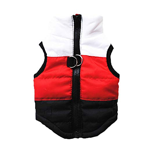 Clopon Pet's Cute Outfit Doggie Cold Weather Coat Small Dogs Warm Garment Winter Apparels Puppy...
