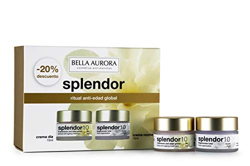 Bella Aurora Pack Minitallas Splendor Dia + Splendor Noche (15Ml+15Ml) Bella Aurora 1 Unidad 100 ml