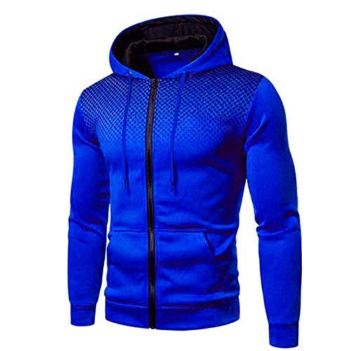BOOMJIU Herren Jogginganzug Trainingsanzug Sportanzug Sporthose Hoodie Hose für Gym Warm Tracksuit Sporthose und Trainingsjacke