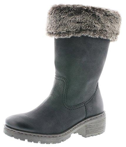 RIEKER Rieker Womens Boot Y4590 Black 39