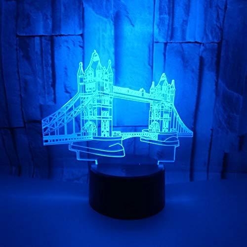 Night Night Tourist Souvenirs Créatif 3D Petits cadeaux pour les amis et la famille peuvent être placés au lit