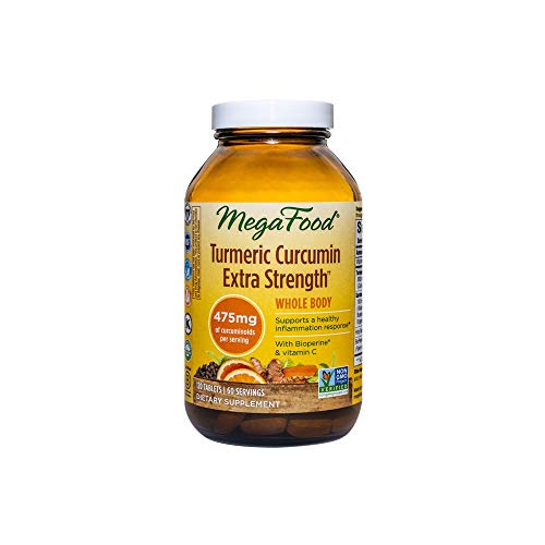 MEGAFOOD Turmeric Strength for Whole Body 120 Tablets